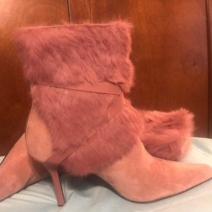 Boots fur and suede by Nine West